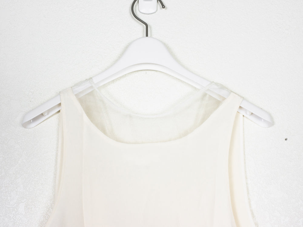 Helmut Lang AW00 Silk Sheer Paneled Blouse