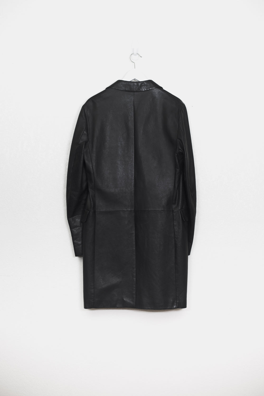 Helmut Lang 00s Leather Chesterfield