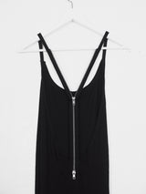Ann Demeulemeester Back Zip Maxi Dress