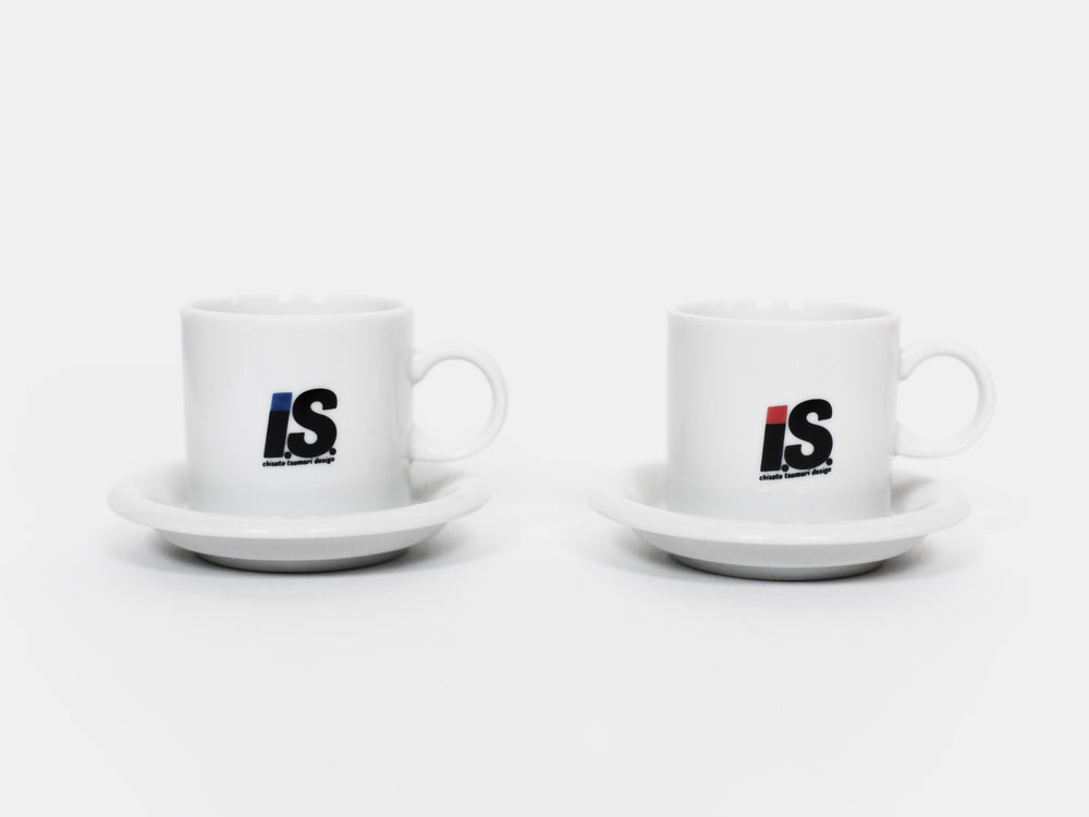 Issey Miyake Issey Sport Set of Souvenir Cups & Saucers