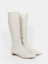 Helmut Lang Knee High Leather Boots