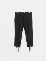 Undercover AW07 Back Lace Hem Trousers