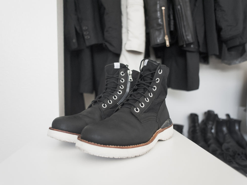 Visvim 7 Hole 73-Folk Carbon Boots