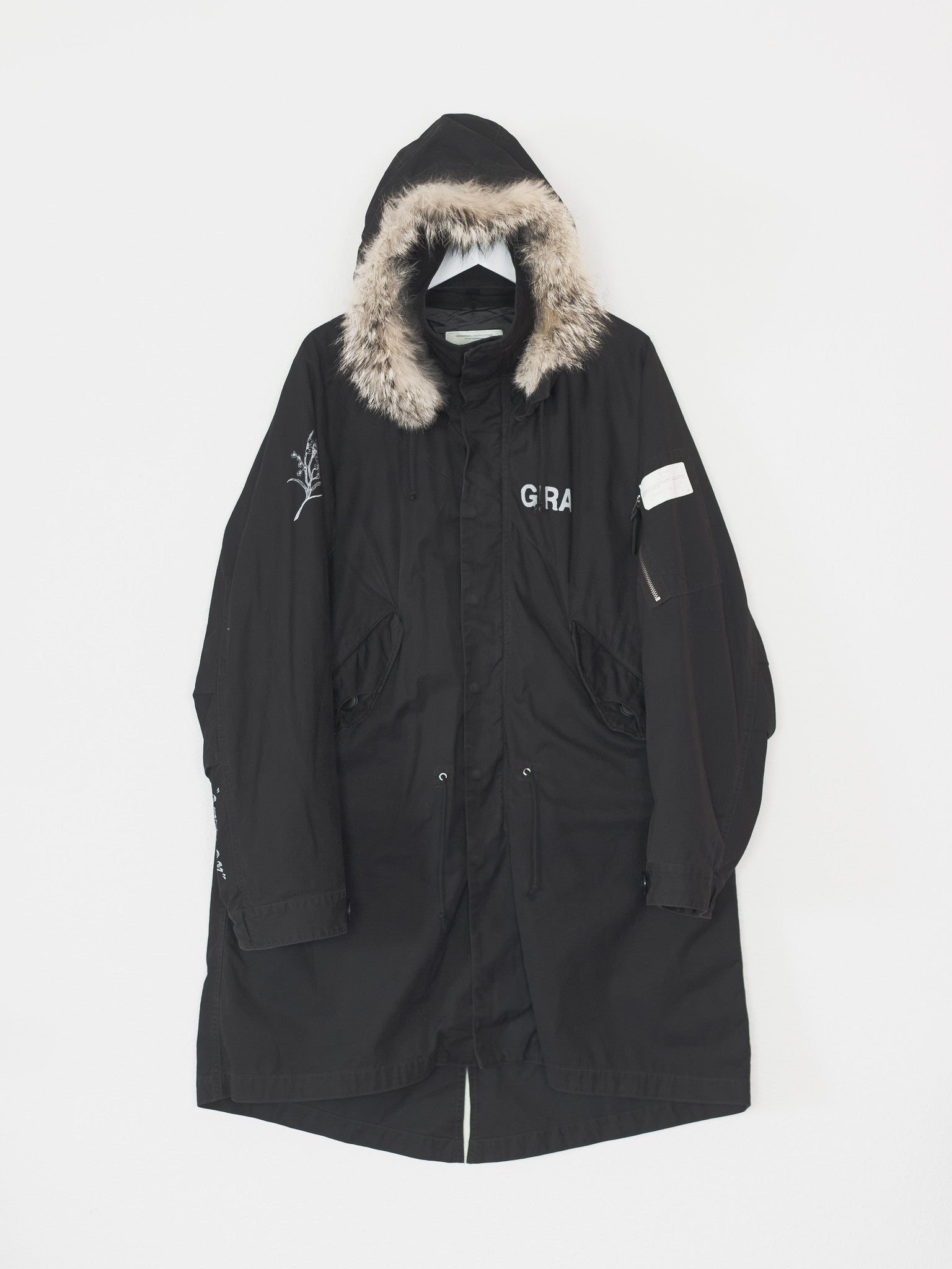 Undercover can parka