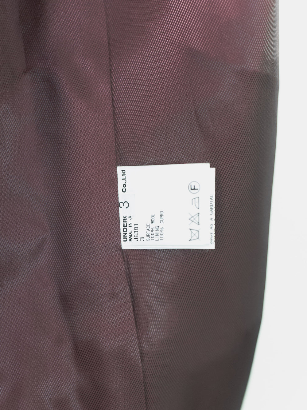Undercover AW12 Psychocolor Chester Coat