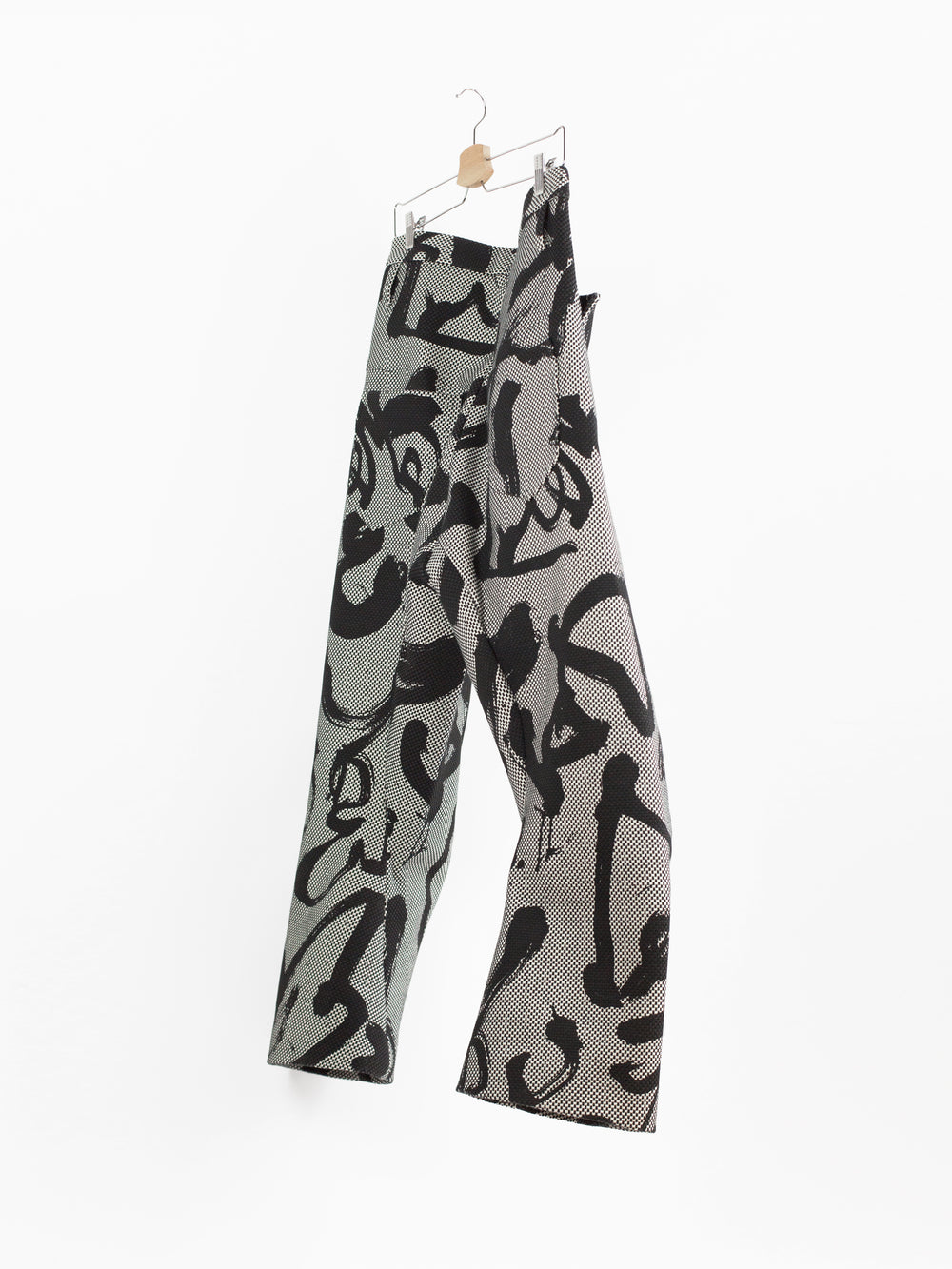 Kozaburo SS19 Calligracamo Sashiko 3D Tailored Trousers