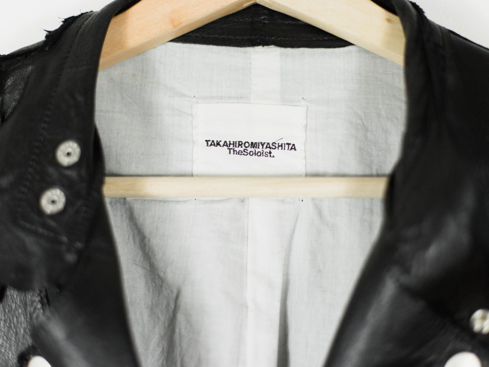 Takahiromiyashita The Soloist AW15 Roughout Motorcycle Jacket