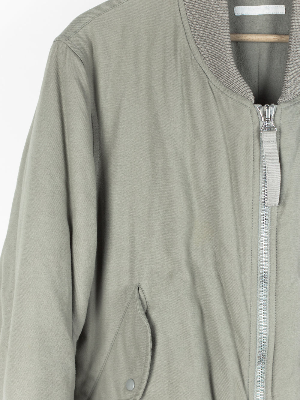 Helmut Lang AW03 Grey Ma-1 Bomber