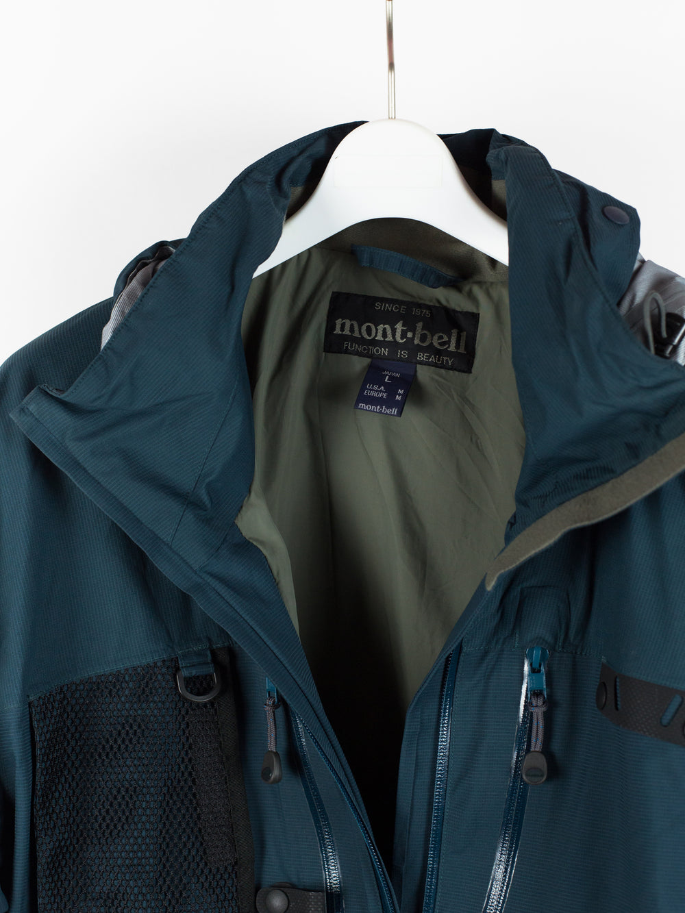Montbell Vintage Technical Fishing Jacket