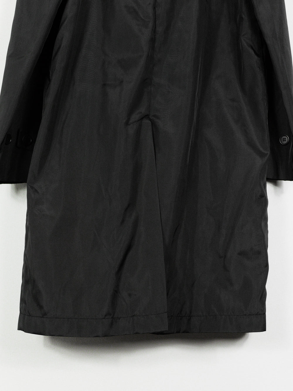 Helmut Lang SS96 Contrast Collar Technical Mac Coat
