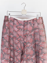Comme des Garçons Homme Plus AW11 'Decadence' Floral Brocade Trousers