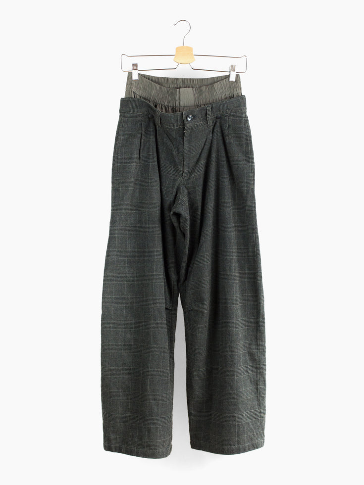 Shinichiro Arakawa 90s Double Layered Pleated Trousers