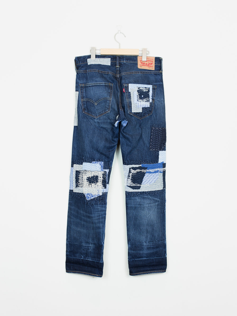 Levi's Japan-Exclusive Sashiko Patchwork 501 Jeans