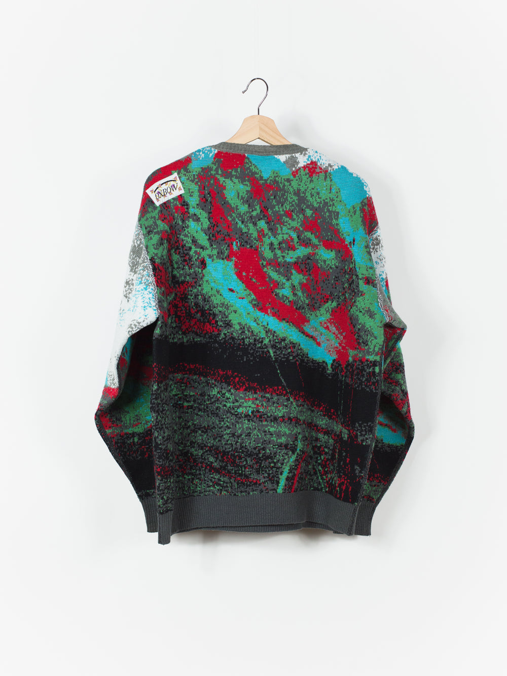 Bless x Oxbow 2009 Anaglyph 3D Skolpen Knit Sweater