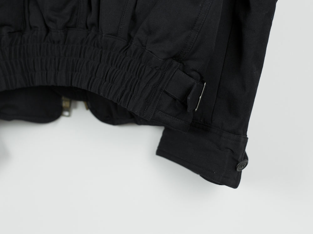 Issey Miyake 90s Curved Panel Bomber