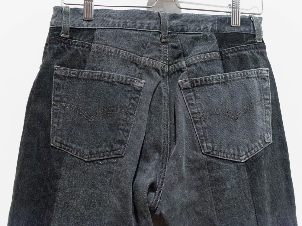 Unused SS16 Ring Zip Remake/Rebuild Denim