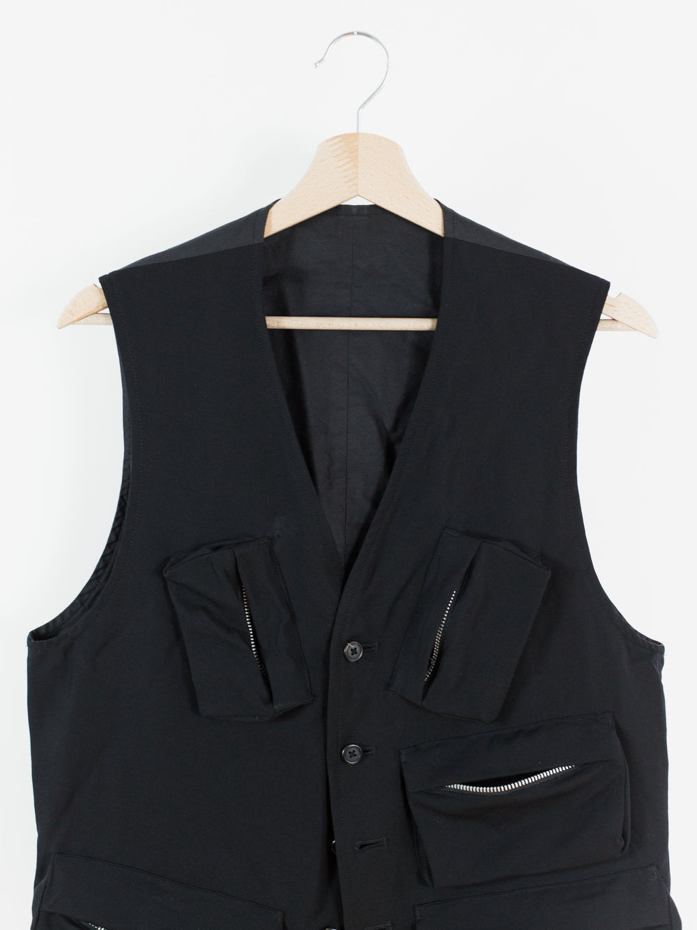Yohji Yamamoto Y's For Men Multi-Pocket Utility Vest