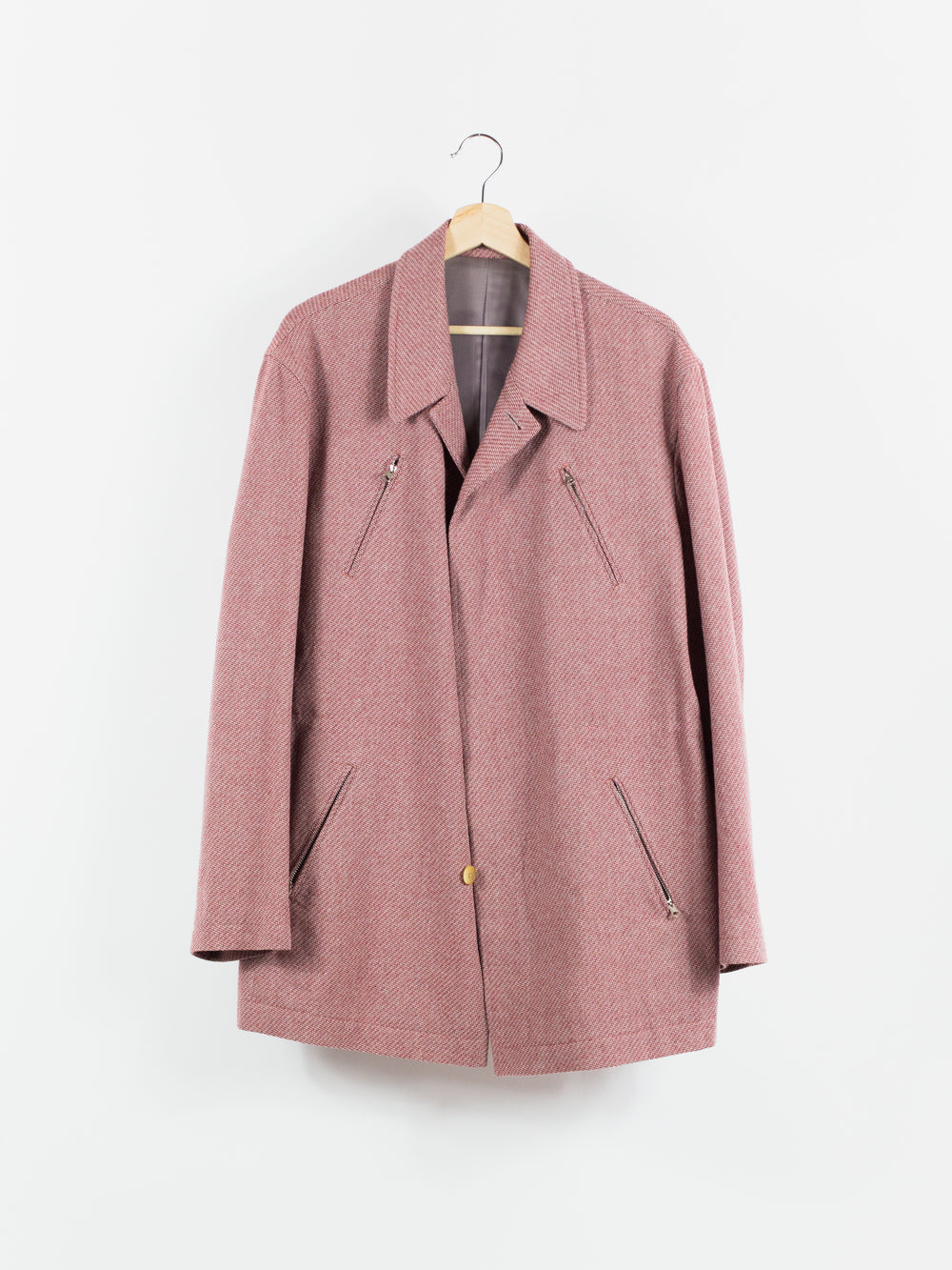 Yohji Yamamoto Y's For Men 90s Pink 2-Piece Suit