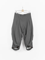 Kiko Kostadinov SS19 00062019 Steel Grey 'Kanu' Trousers