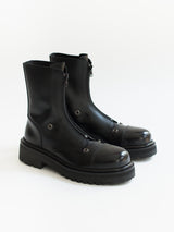 Vetements SS20 Front-zip Military Boots