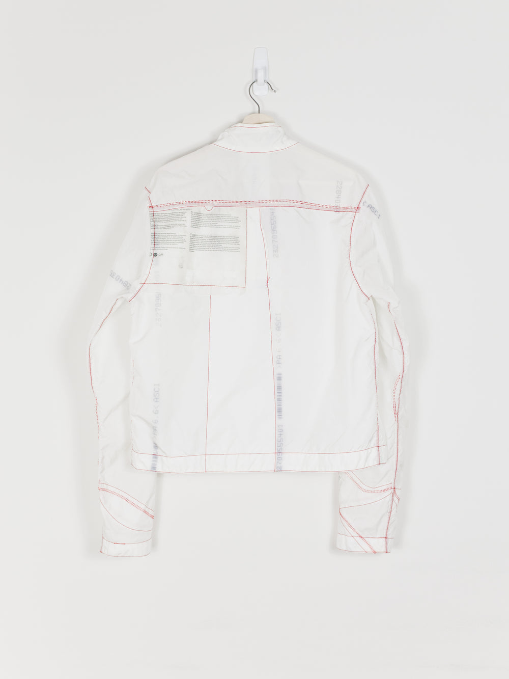 Kanghyuk SS17 (MA Collection) Foldover Recycled Airbag Jacket