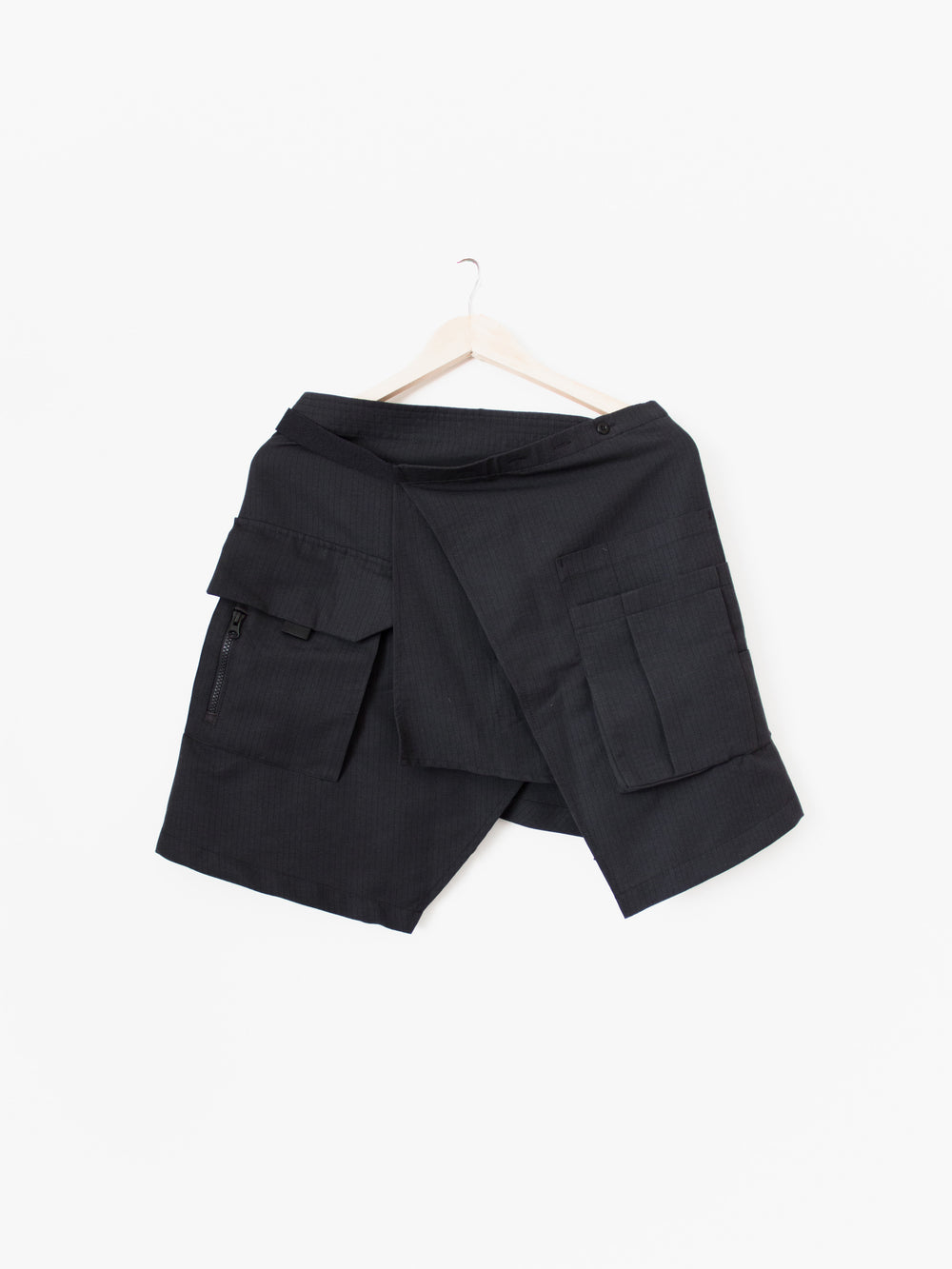 Guerrilla Group SS16 Wrap Cargo Skirt