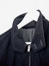 Number (N)ine SS02 Velour High Collar Jacket