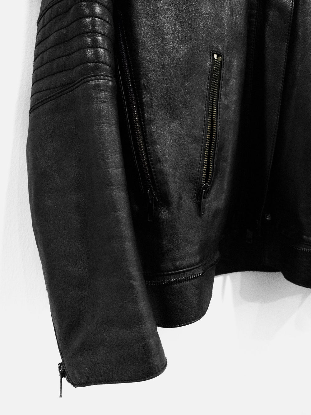 Helmut Lang AW99 Lamb Leather Astro Biker Jacket
