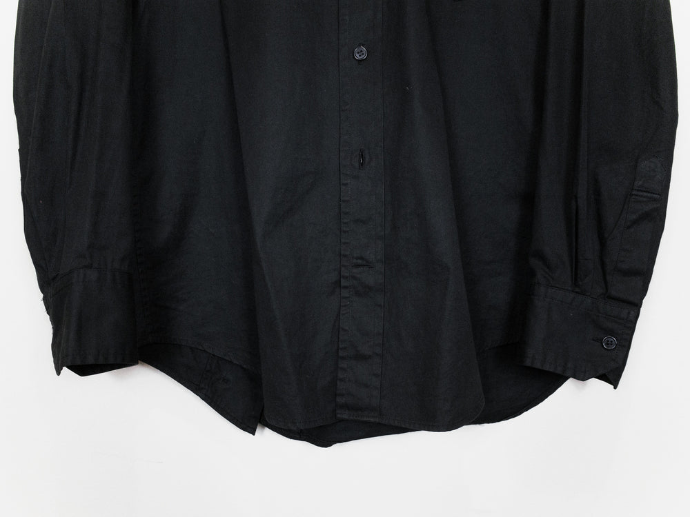 Yohji Yamamoto Y's For Men SS08 Deconstructed Slash-Back Shirt