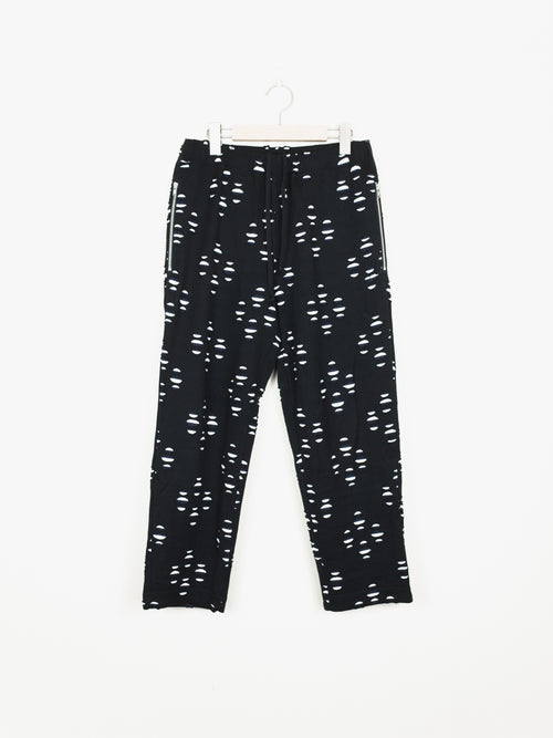 Comme des Garcons Homme Plus SS11 Layered Cutout Pajama Trousers
