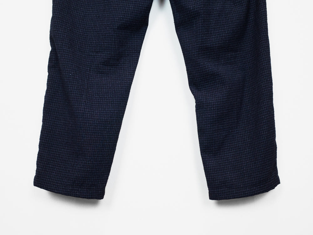 Sasquatchfabrix AW13 Tapered Micro Grid Trousers