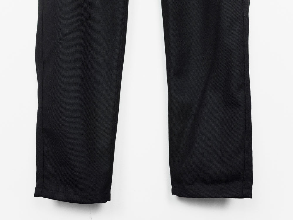 Unused AW16 Ring Zip Wool Gabardine Trousers