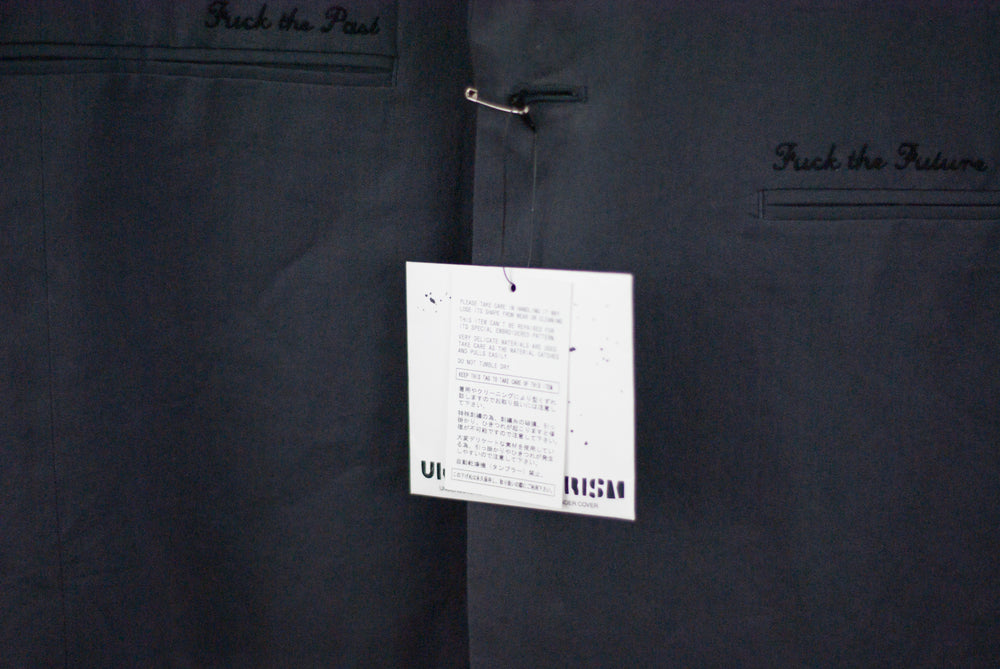 Undercover SS12 Fuck the Past Fuck the Future Dinner Suit