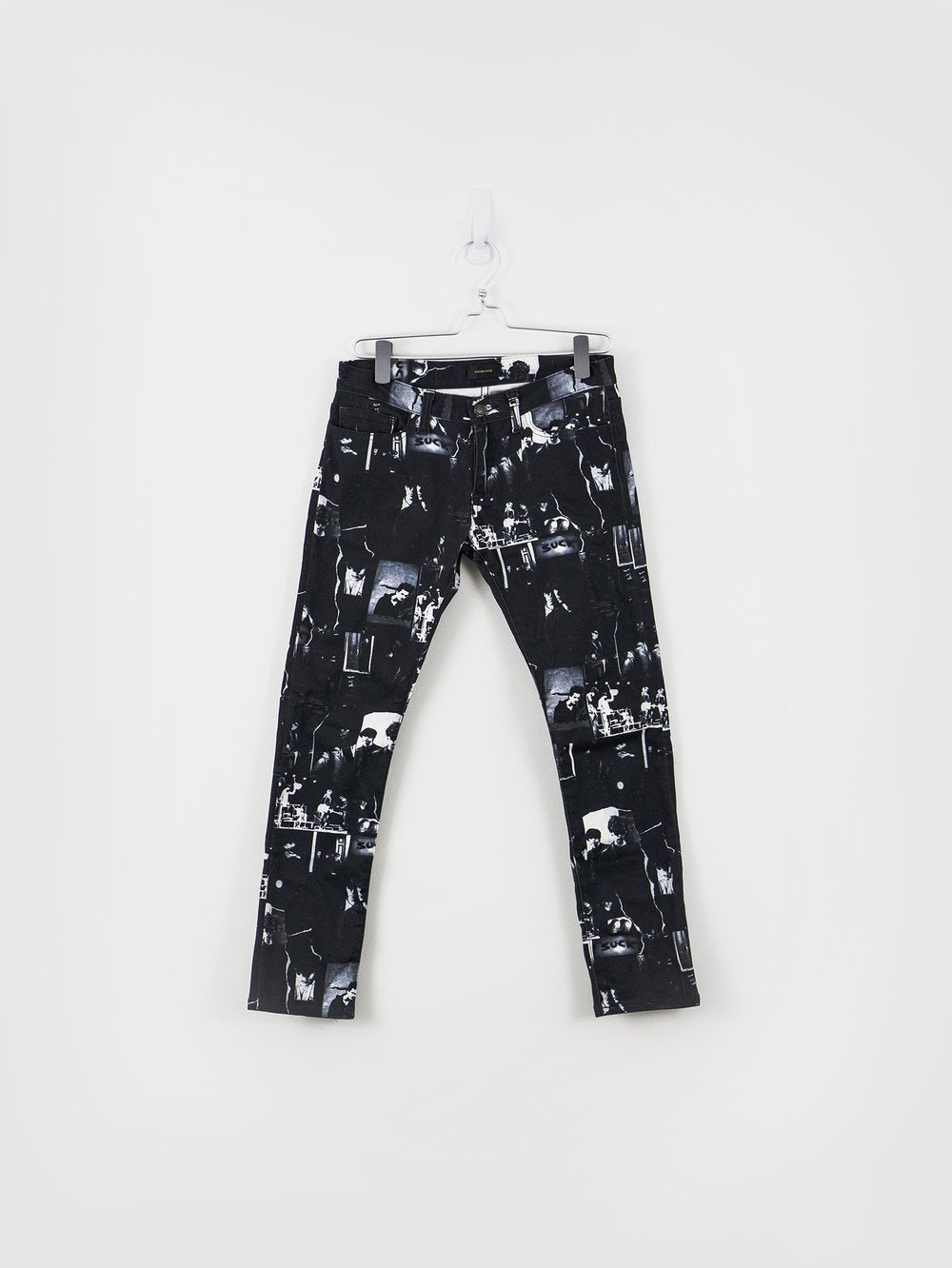 Undercover SS14 JAMC Suck All-Over Print Cropped Jeans