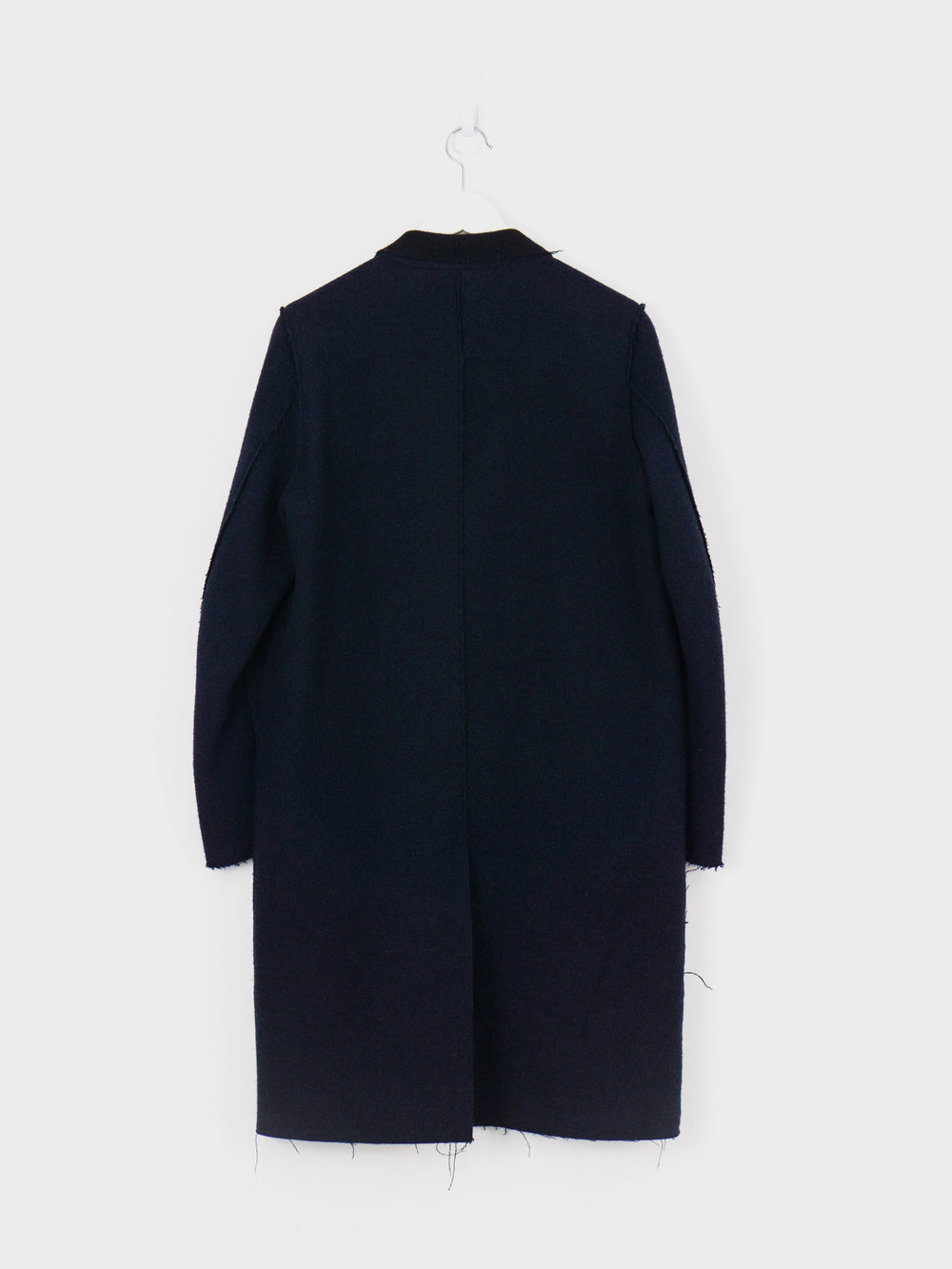 Undercover AW14 Double-Breasted Unfinished Eggshell Coat