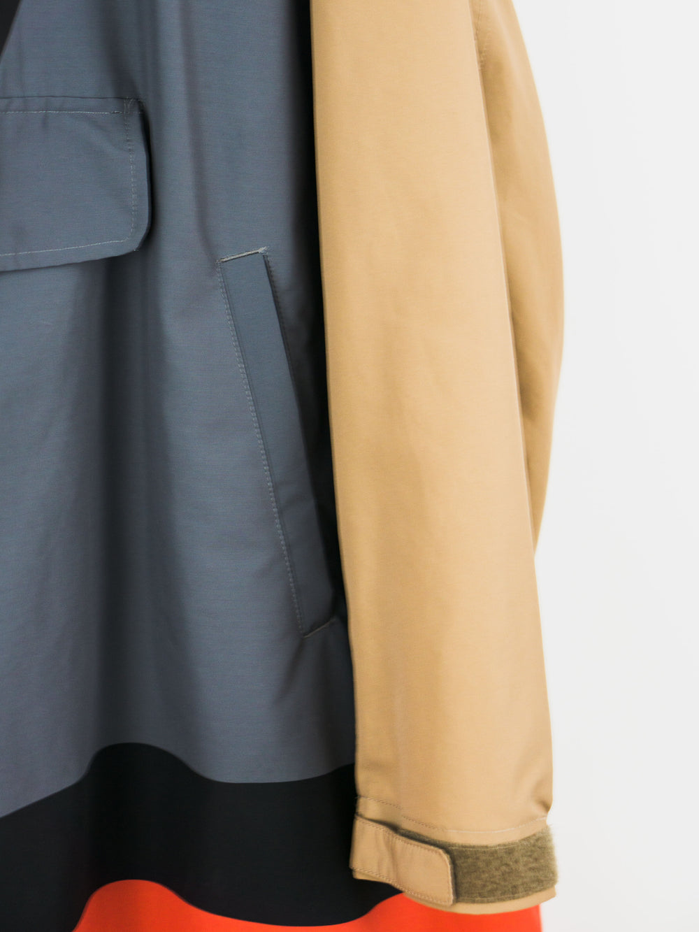 Undercover SS15 Television Half-Zip Anorak/Parka