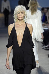 Ann Demeulemeester SS07 Off Shoulder Top