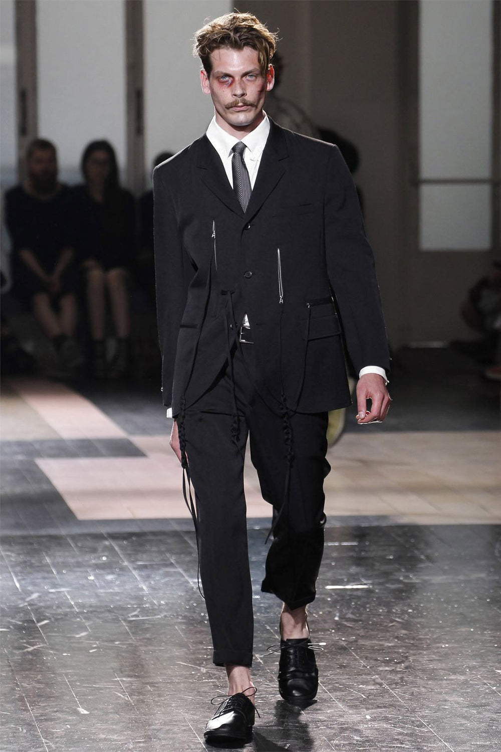 Yohji Yamamoto Pour Homme SS13 Look 26 String-Tie Full Suit