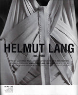 Helmut Lang SS01 Silk Cross Strap Bound Top