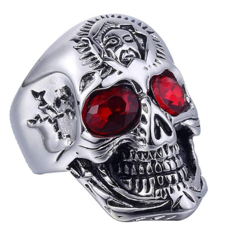 Beast Skull Ring (Stainless Steel)