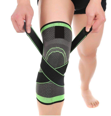 3D Weaving Knee Sleeve with Strap - For Protection and Support