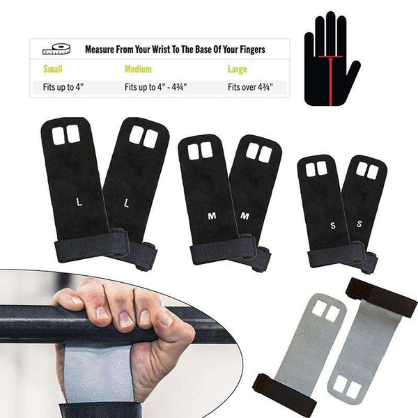 Pull Up and Barbell Grip Palm Protector Gym Gloves
