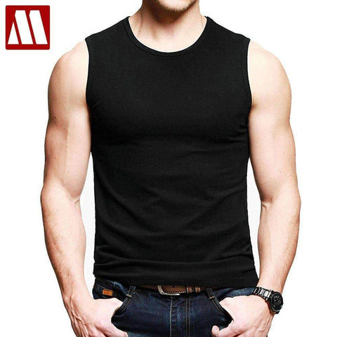 100% Cotton Gym Vest - Brand Quality