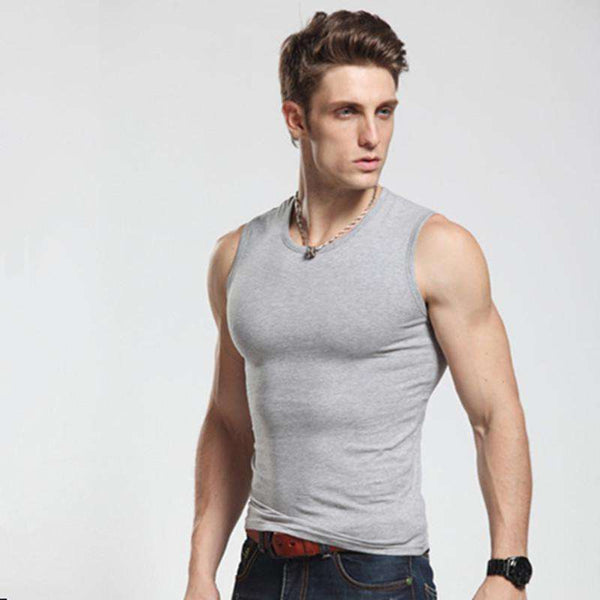 Slim fit Gym Vest - High Quality Cotton - Bodybuilding Fitness