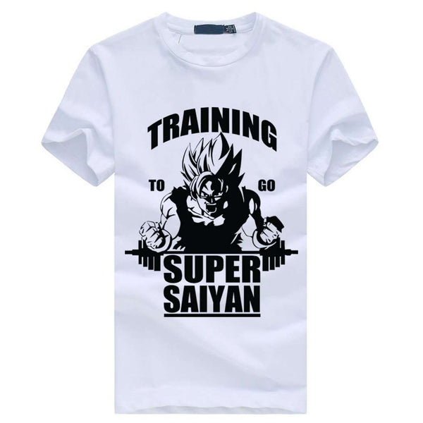 Super Saiyan Dragaon Ball Z T-shirt for Bodybuilding