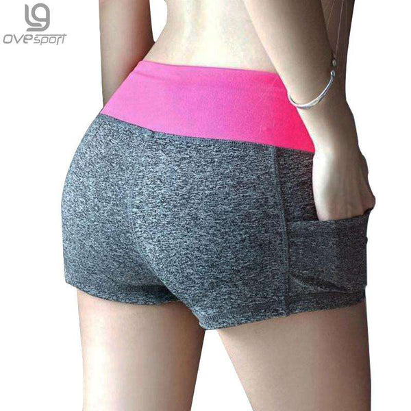 Female Casual Printed Fitness Shorts (12 Colors)