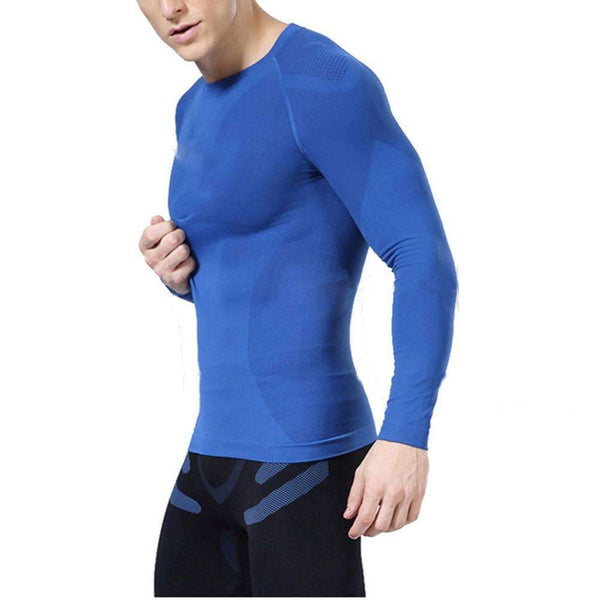 Slim Fit Casual Bodybuilding Compression Tshirt