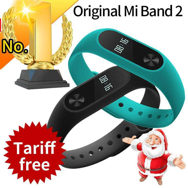 Xiaomi Mi Band 2 with Smart Heart Rate Fitness Touchpad OLED