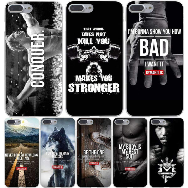 Bodybuilding Motivational Iphone Cases