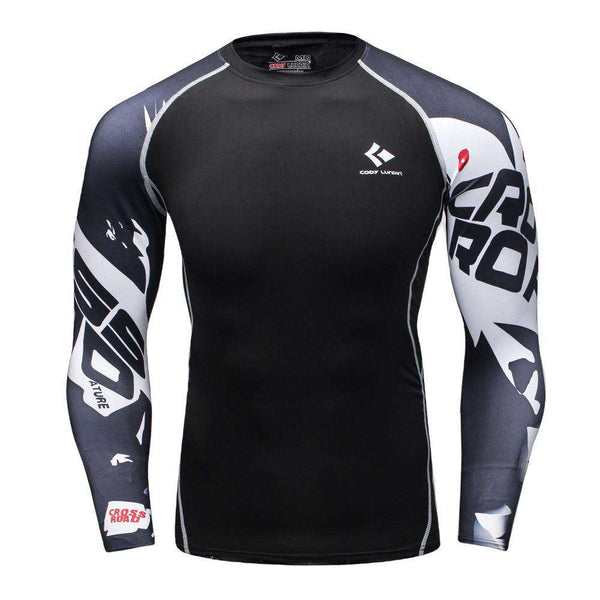 Long Sleeves Compression Wear for Fitness